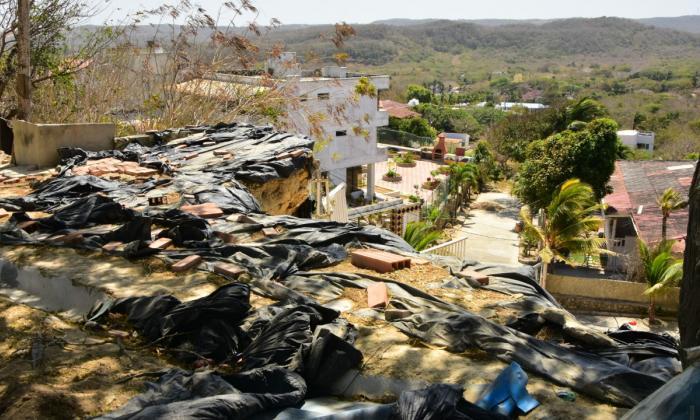 Ocho viviendas en Puerto están en riesgo de colapsar