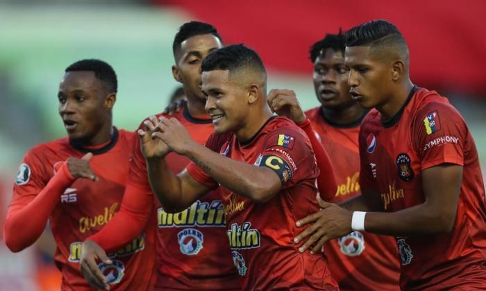 Caracas FC, rival de Junior en la Copa Libertadores 2021