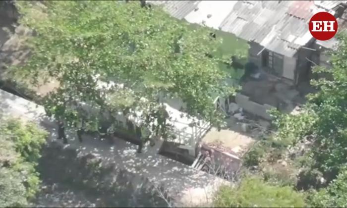 Policía captura a cuatro sujetos con ayuda de drones