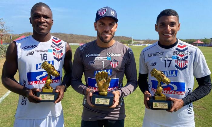 Cuatro jugadores del Junior hacen parte del once ideal de la Acolfutpro