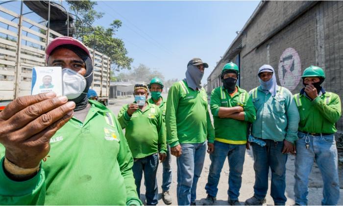 Obreros bloquearon Corredor Portuario exigiendo que no les quiten su trabajo