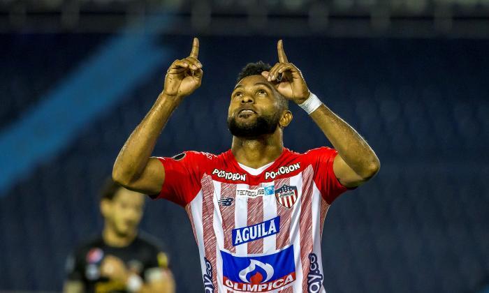 """Junior viene alzando"": Miguel Borja"