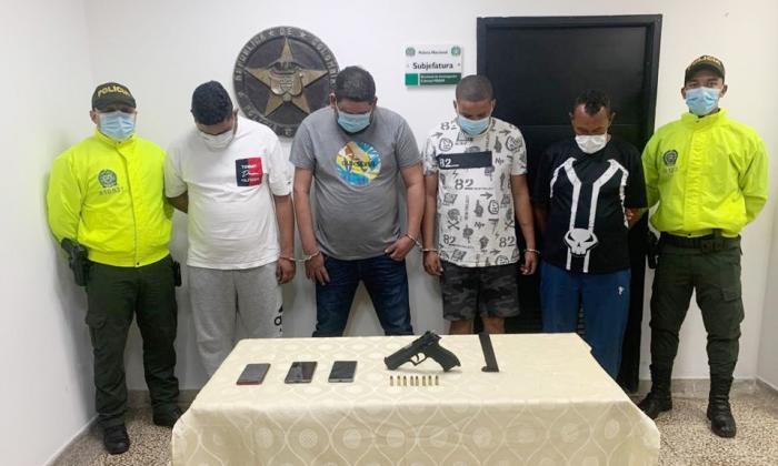 Caen cuatro de la banda delincuencial 'los Gama alta'