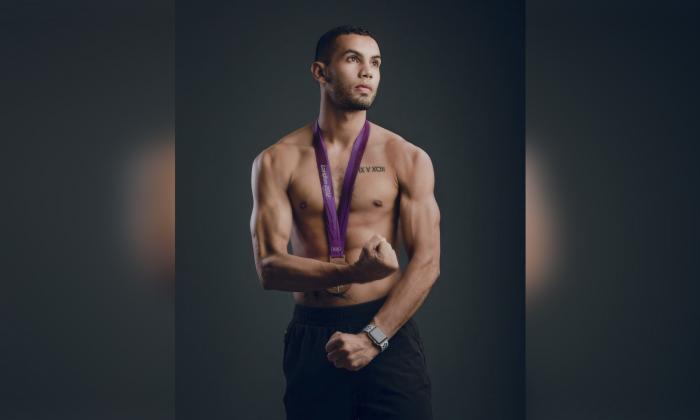 Olímpico: un hombre de pocas palabras y mucha acción