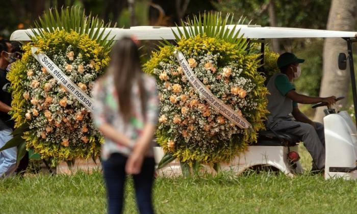 Brasil suma 1.656 muertes por coronavirus y el total ya pasa de 312.000