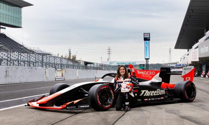 Tatiana Calderón inicia en Fuji la temporada en la Súper Fórmula japonesa