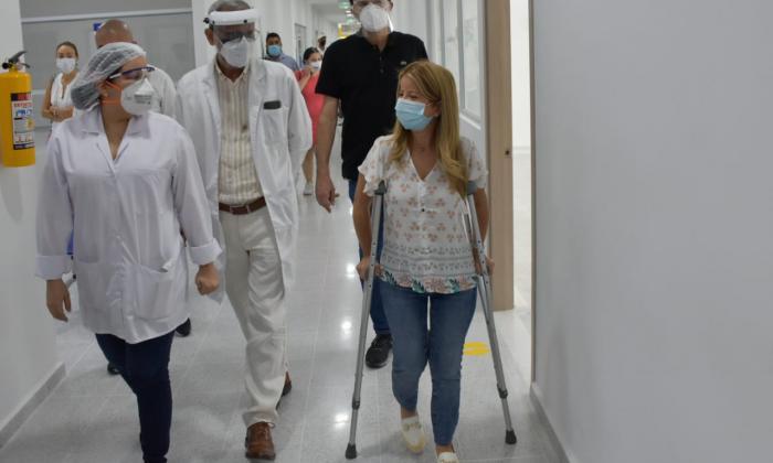 Adultos mayores de Soledad, a vacunarse contra la covid-19