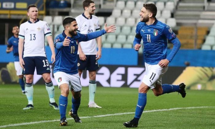 Presencia de público en partidos de la Eurocopa en Italia