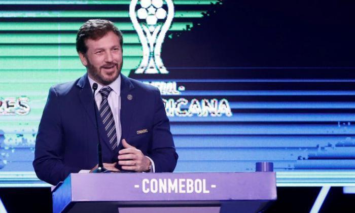 Presidente de la Conmebol habla sobre mantener protocolos sanitarios