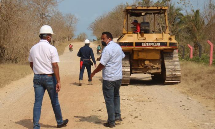 Intervendrán la vía Santa Lucía–Moñitos
