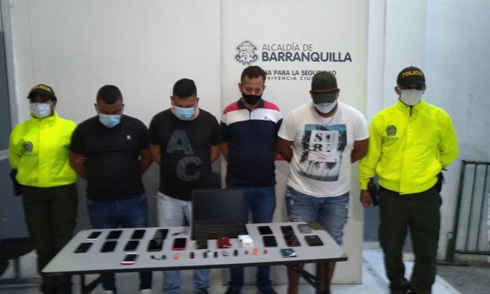 Robo de celulares en Barranquilla bajó un 34%, dice la Policía