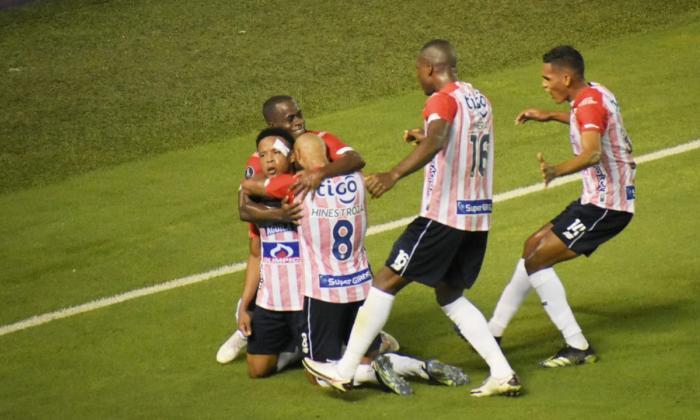 Junior vs Bolívar, partido de vuelta Copa Libertadores Fase 3