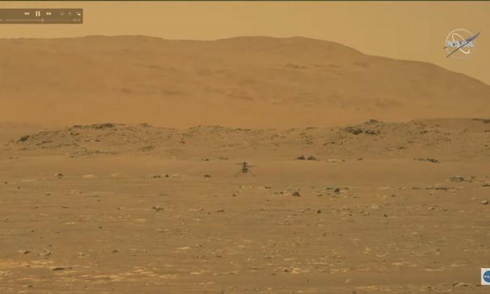 Helicóptero Ingenuity hace historia al volar, por primera vez, en Marte