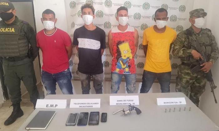 Fiscalía pide asegurar a cuatro presuntos integrantes del Clan del Golfo