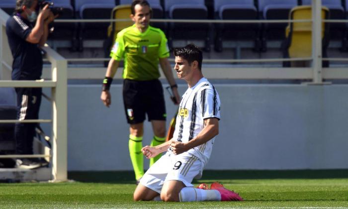 Juventus igualó 1-1 ante Fiorentina