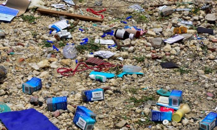 Denuncian mala disposición de desechos hospitalarios