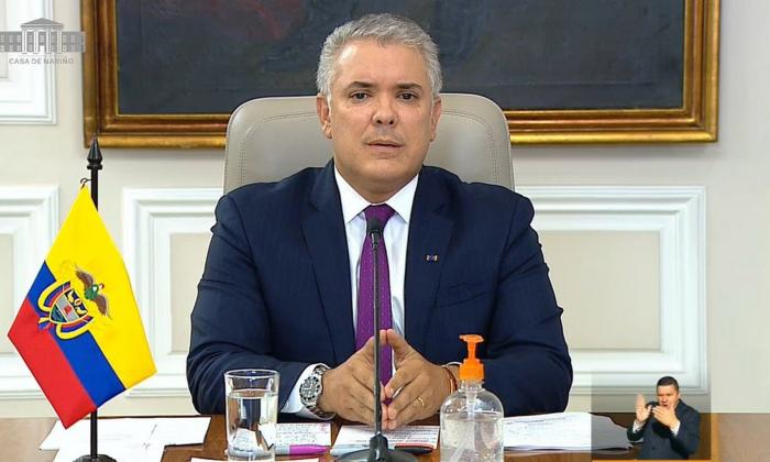 Duque dice que reforma tributaria es necesaria para mejorar las finanzas del país