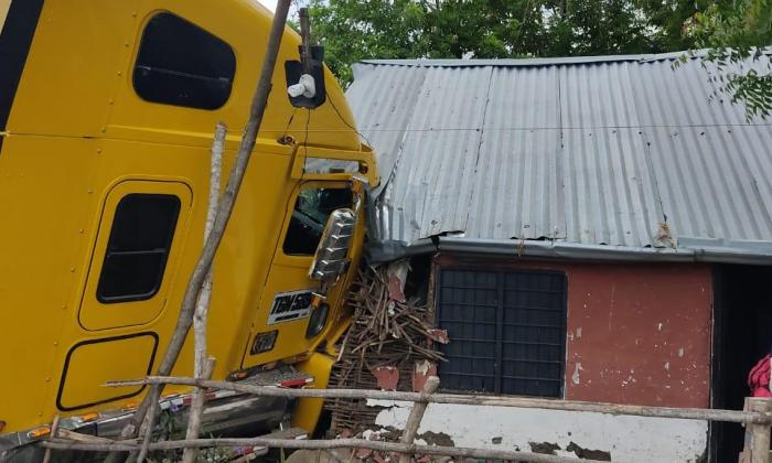 Accidente aviva descontento de familias que viven en la Troncal de Occidente