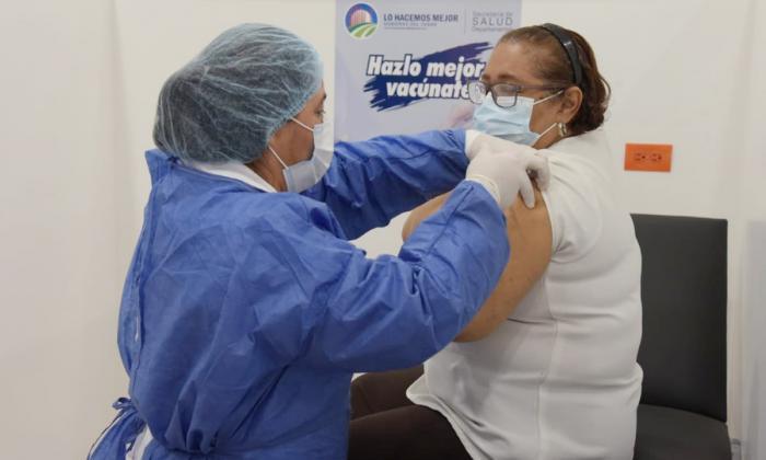 Avanza vacunación en Valledupar: van 59.802 dosis aplicadas