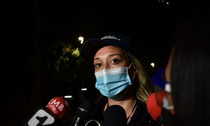 Lesionados por enfrentamientos sobre la calle 72 en Barranquilla
