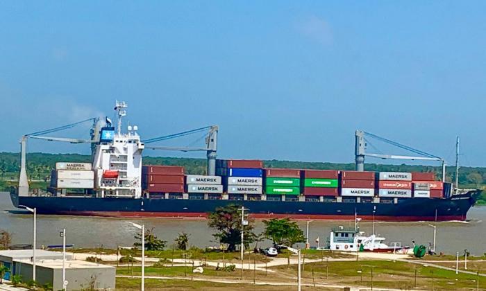 Nuevas condiciones para la navegación en el canal de acceso al Puerto