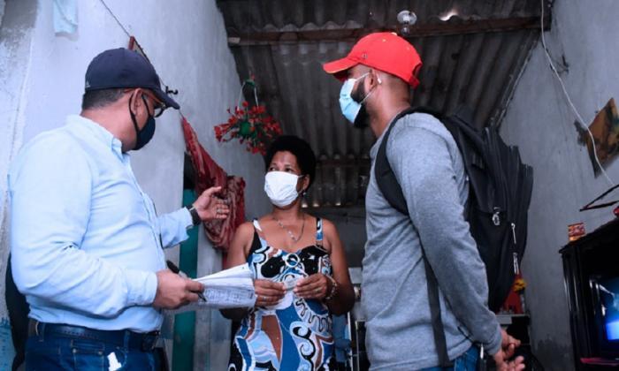 Programa de mejoramiento de vivienda continúa en Soledad