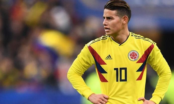 Por no estar en condiciones, James Rodríguez fue desconvocado de la Selección Colombia