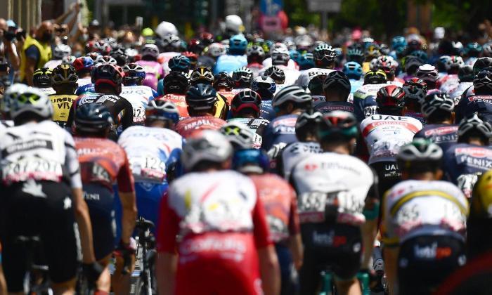 Clasificación general y de la etapa 20 del Giro de Italia