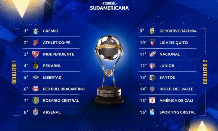 Junior conocerá su rival en los octavos de final de la Copa Sudamericana