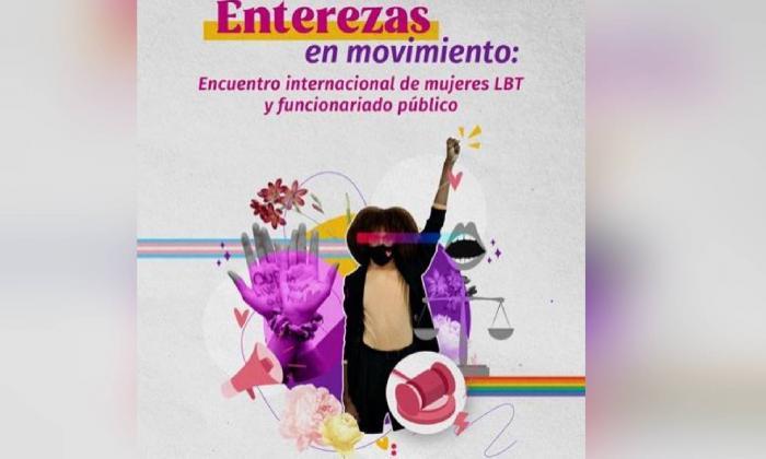 Enterezas en movimiento, encuentro virtual de mujeres LBT