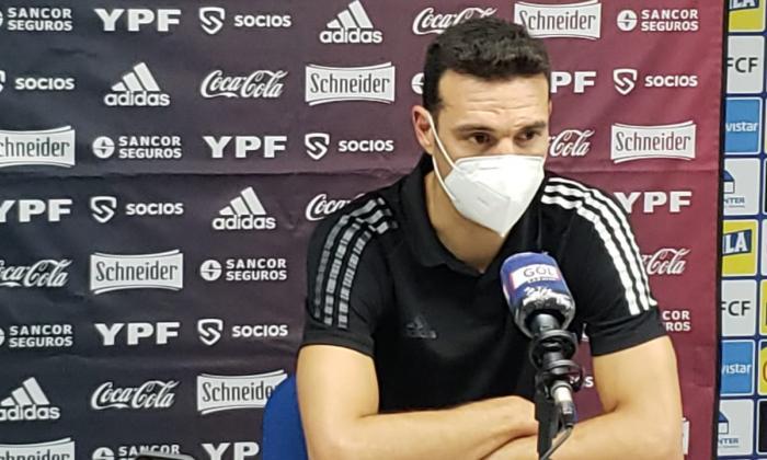 Declaraciones de Lionel Scaloni tras el Colombia vs. Argentina
