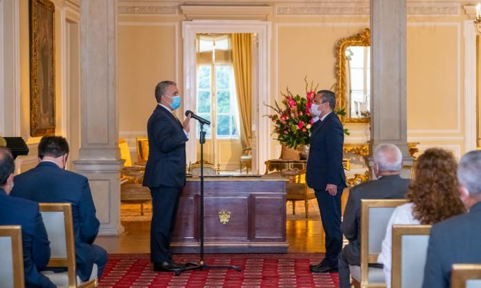 Presidente Duque posesionó al nuevo Alto Comisionado para la Paz