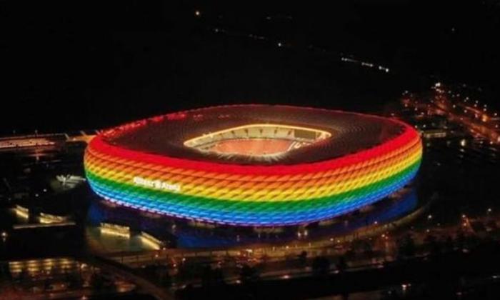 Múnich carga contra la Uefa por prohibir iluminar con el arcoiris Lgbti