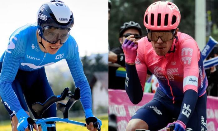 Supermán y Urán lideran la armada colombiana en el Tour