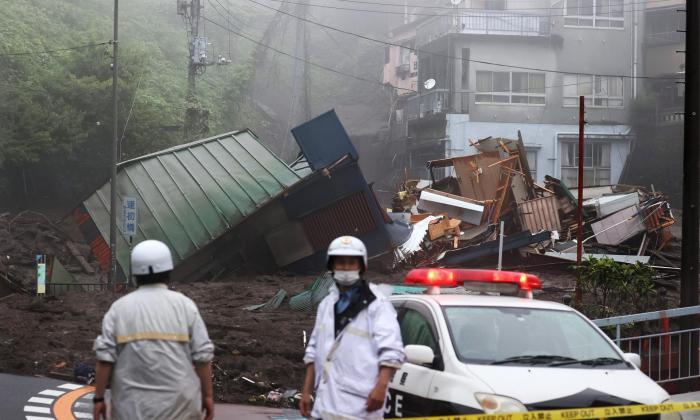 Las lluvias récord en Japón dejan 2 muertos y una veintena de desaparecidos