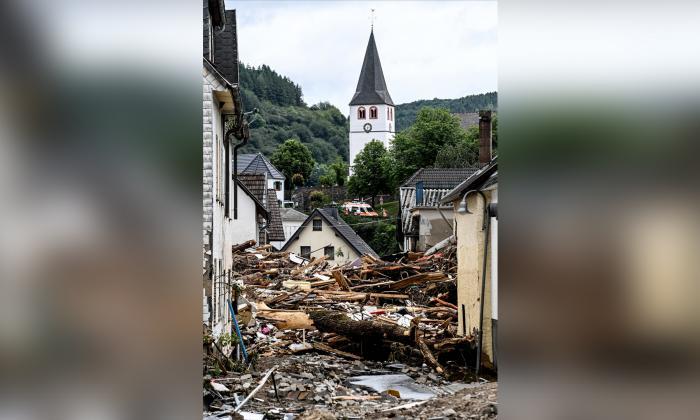 Inundaciones dejan más de 50 muertos en Alemania