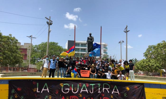 Marchas y ceremonias para conmemorar el 20 de julio en La Guajira