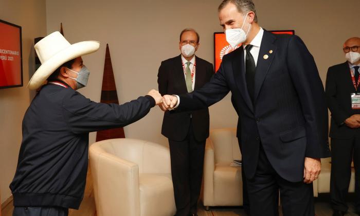 Pedro Castillo asume la presidencia del Perú