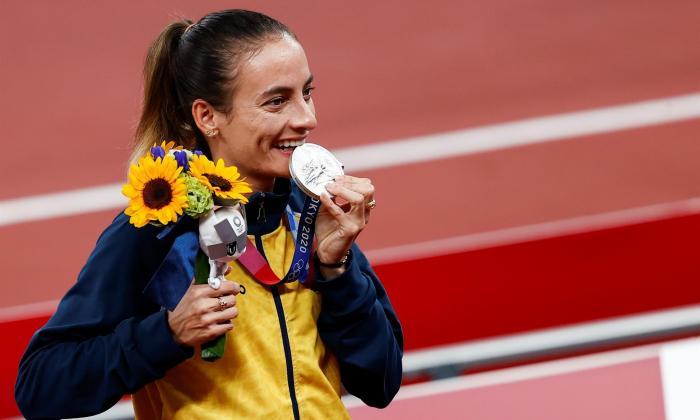 Sandra Lorena Arenas ya tiene su medalla de plata en los Juegos Olímpicos de Tokio