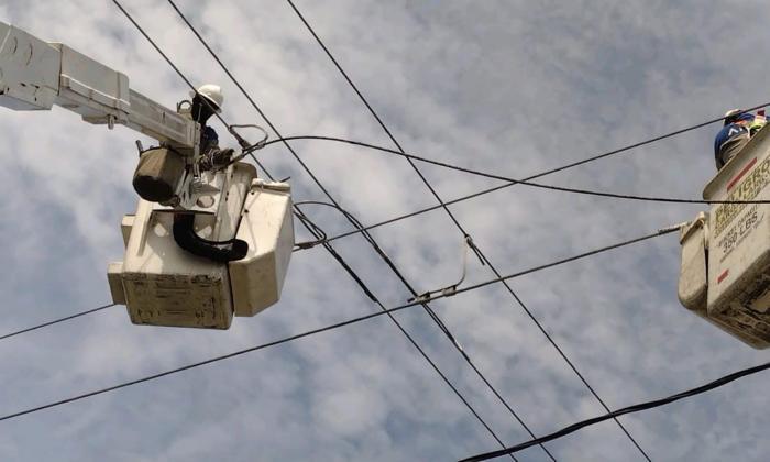 Sin energía este lunes sectores de Barranquilla y municipios de Atlántico