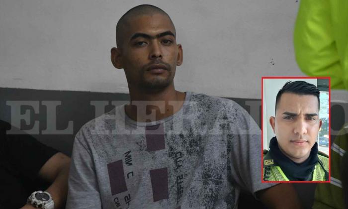 Sijín captura 'Estrellita' por crimen de policía en Malambo
