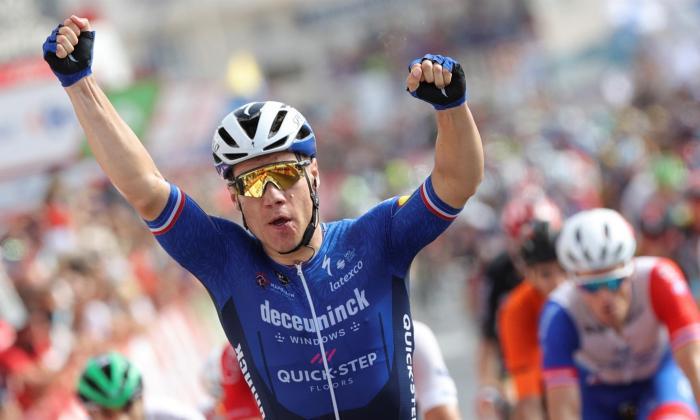 Fabio Jakobsen se llevó la octava etapa de La Vuelta a España