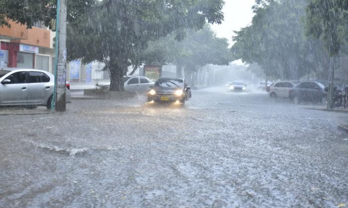 Lluvias en la región Caribe arrecian por nueva onda tropical