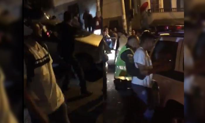 No me dañen el carro, es de mi mamá: súplica de ladrón a comunidad enardecida en Medellín