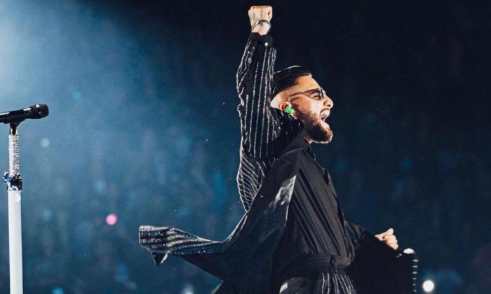 Maluma apunta a Hollywood tras un exitoso concierto en Los Ángeles