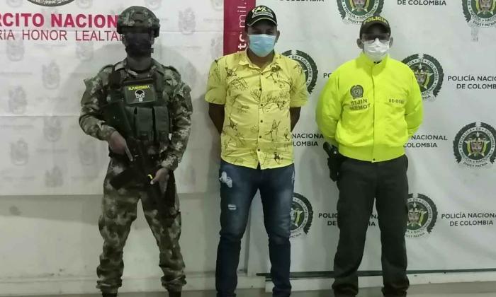 Capturan a presunto coordinador de sicarios del Clan del Golfo en Montería