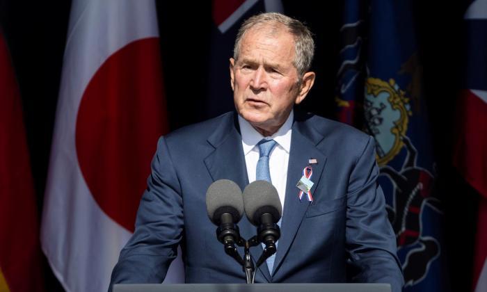 Bush defiende luchar contra extremistas violentos dentro y fuera de EE. UU.