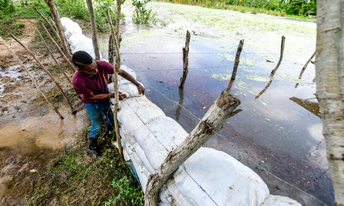 Sur del Atlántico comienza a tomar medidas por creciente del río
