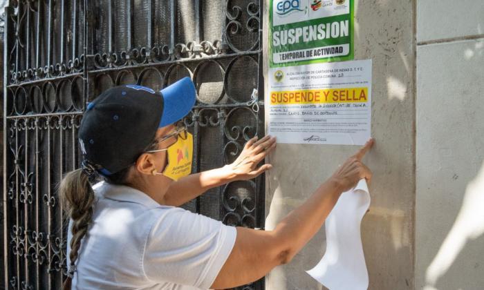 Suspenden tres obras en el centro histórico de Cartagena