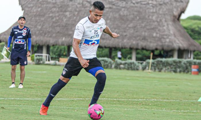 Juan Sebastián Herrera dice que quiere pelear un puesto en la titular de Junior